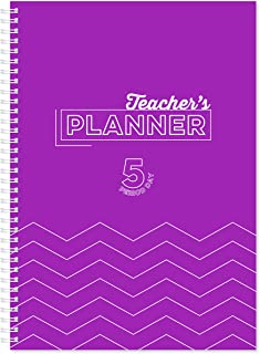 Silvine A4 Teacher's Academic Planner with Durable Hardback Covers and 204 x5 Period Planner Pages