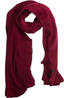 LOFOIO Stola Donna lana con balza