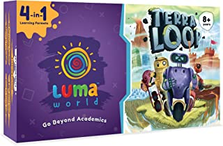 Luma World Terra Loop 4 in 1 Educational Board STEM Activity Kit for 8+ Years to Learn Numeracy, Patterns, Money and Life ...