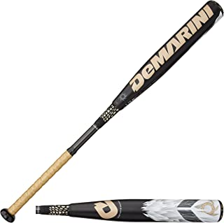 DeMarini 2014 Voodoo Overlord WTDXVDL Youth Bat (-13), WTDXVDL 1831-V14, Black, 31-inch/18-Ounce