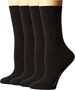 Rib Dress Socks 4-Pack
