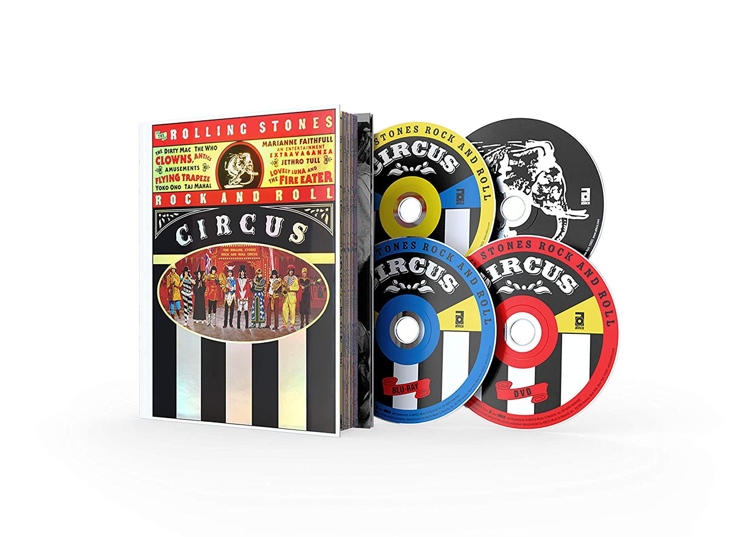 The Rolling Stones Opening large release sale Rock and Limited Roll Circus Deluxe Cheap SALE Start Edition