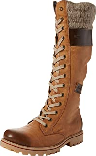 Million Womens Casual Long Lace Up Riding Boots