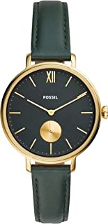 Fossil Women's Quartz Watch, Chronograph Display And Leather Strap - ES4662-1
