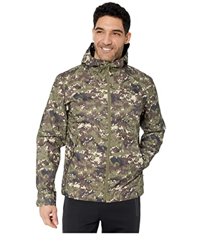 The North Face Millerton Jacket (Burnt Olive Green Ux Digi Camo Print) Men
