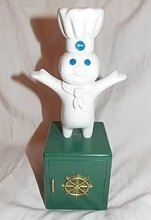 1999 Pillsbury Doughboy Metal Bank that Giggles