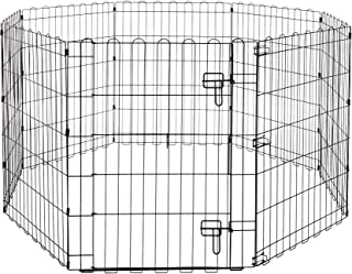 "AmazonBasics Pet Pens, 30"", with door"