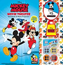 Disney Mickey Mouse 90th Anniversary Storybook & Movie Projector (Movie Theater Storybook)