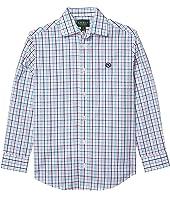 Gingham Dress Shirt (Big Kids)