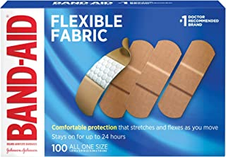 Flexible Fabric Adhesive Bandages for Minor Wound Care