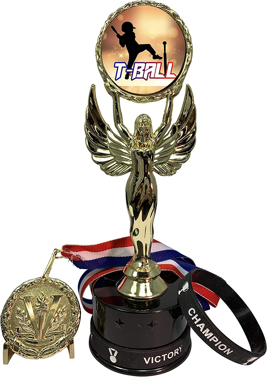 Express Medals 1 Max 47% OFF to 12 Packs of Awards Tee Ball That Trophy Incl Excellent
