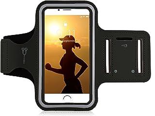 Tasche mit gro/ßem Fach Jogging Dealbude24 Armtasche L Rot Sportarmband Handytasche passend f/ür Samsung Galaxy J6 Handy Fitness H/ülle leicht