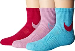 3-Pair Pack HBR Trainers Crew Socks (Toddler)