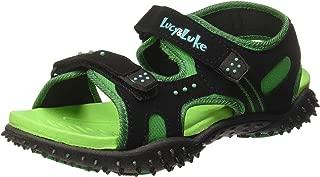 Lucy & Luke (from Liberty) Boy's Habana Green Sneakers-3 UK/India (36 EU) (8074057140360)