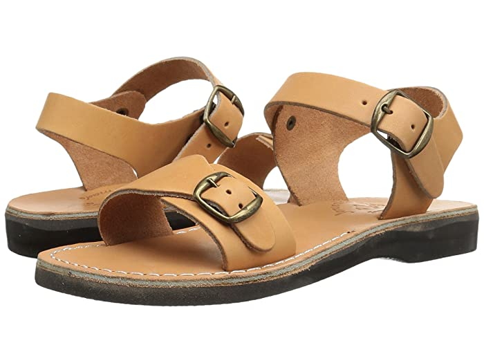 1950s Style Shoes | Heels, Flats, Saddle Shoes Jerusalem Sandals The Original - Womens Tan Womens Shoes $75.95 AT vintagedancer.com