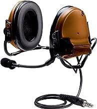 3M PELTOR COMTAC 93439 III ACH Tactical Communication Headset MT17H682BB-47 CY, Single COMM, Back Band,