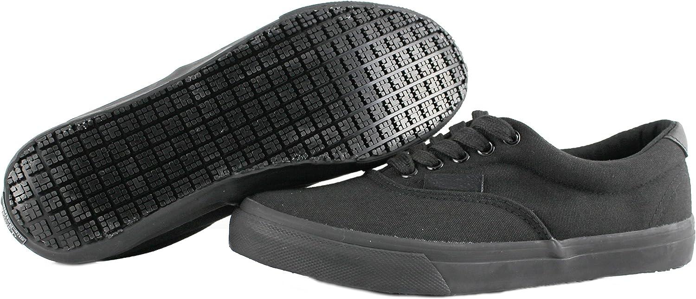 Own shoes Slip Resistant Black Sunbrella Water Resistant Non Slip Waitress shoes