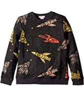 Stella McCartney Kids - Rockets Sweatshirt (Little Kids/Big Kids)
