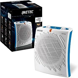 Imetec 4902E Calefactor, 2200 W, 55.6 Decibelios, 3 Velocidades, Blanco y Azul