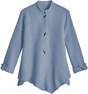 focus waffle weave jacket