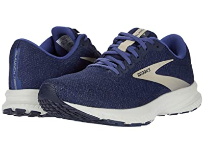 Brooks Launch 7 (Navy/Cobblestone/Grey) Men