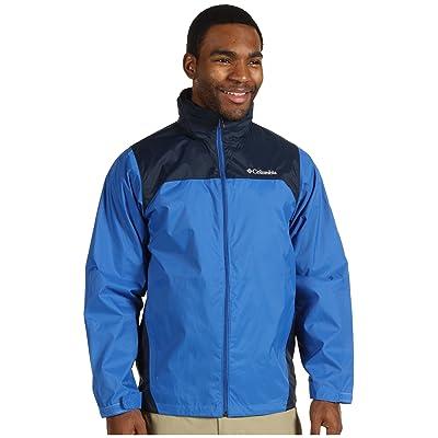 Columbia Glennaker Laketm Rain Jacket (Blue Jay/Columbia Navy) Men