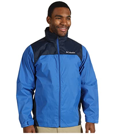 Columbia Glennaker Lake Rain Jacket (Blue Jay/Columbia Navy) Men