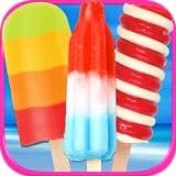 Frozen Ice Popsicles & Ice Cream Maker - Kids Fun Dessert Maker Games FREE