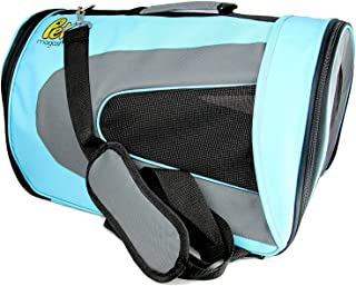 Pet Magasin Airline Approved Cat Carrier – Water Resistant, Collapsible, Soft-Sided..