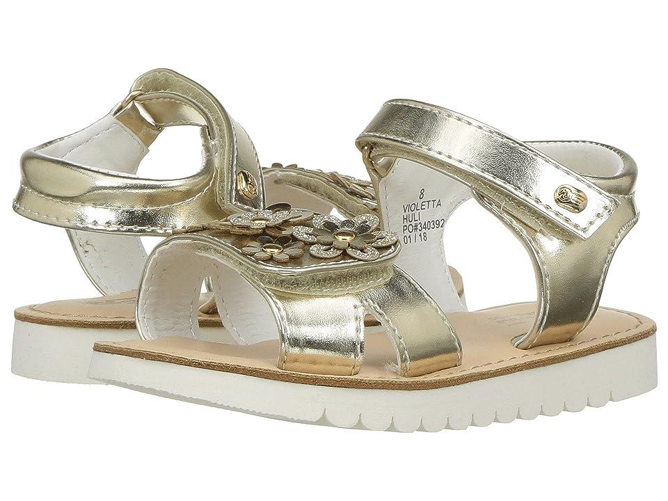 Naturino Express Violetta (Toddler/Little Kid) (Gold) Girls Shoes