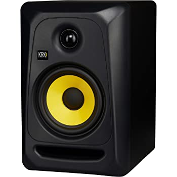 KRK Classic 5 Professional Bi-Amp Monitor de Estudio con Potencia de 5 Pulgadas