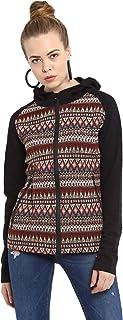 CHKOKKO Full Sleeves Traditional Kullu Hooded Zipper Winter Jacket for Women