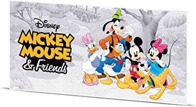 2017 NU Mickey Mouse and Friends- Disney 5g Note Gift item Silver Perfect Uncirculated