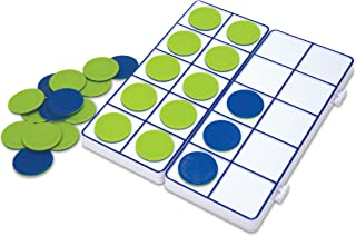 Learning Resources Connecting Ten-Frame Trays, 165 Pieces