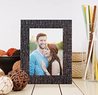 Art Street Synthetic Bronze Wall/Table Photo Frame (Picture Size 5 inches X 7 inches, with Stand)
