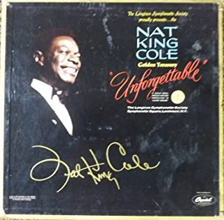 Unforgettable Nat King Cole Golden Treasury (6 ALBUM Box Set) (The Longines Symphonette Society) Records Album Vinyl LP