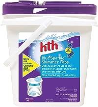hth Pool Sanitizer Blue Sparkle Skimmer Tabs (28003)