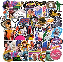 Back to The Future Movie Stickers Laptop Stickers Waterproof Skateboard Car Snowboard..