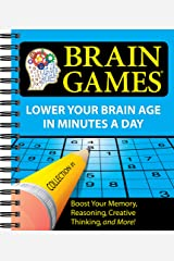 Brain Games® #1: Lower Your Brain Age in Minutes a Day Spiral-bound