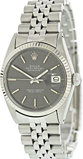 Rolex Datejust Automatic-self-Wind Male Watch 1601 (Certified Pre-Owned)