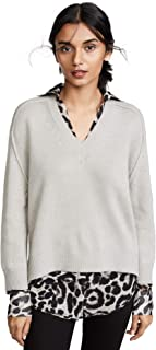 Brochu Walker Women's V Neck Layered Sweater