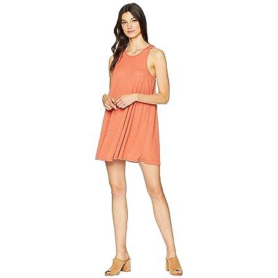 Free People LA Nite Mini Dress (Copper) Women