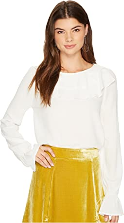 For Love and Lemons - Claire Ruffle Blouse