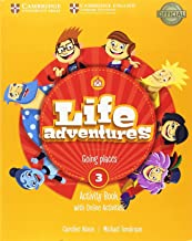 Life Adventures Level 3 Activity Book with Home Booklet and Online Activities: Going places
