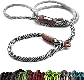 Friends Forever Extremely Durable Dog Rope Leash, Premium Quality Mountain Climbing Rope Lead, Strong, Sturdy Comfortable ...