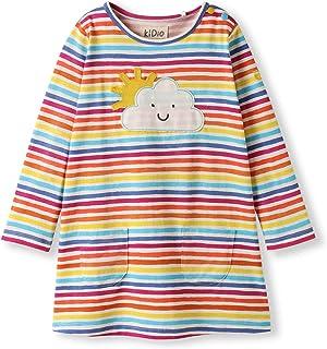 Beb/è Bambini Piccoli Ragazzo Ragazza kIDio Cotone Biologico T-Shirt Manica Corta 0-4 Anni
