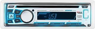 BOSS Audio Systems MR762BRGB Marine Stereo - Single Din,  Bluetooth Audio,  CD USB SD MP3,  Aux in,  AM FM Radio,  Weatherproof,  Detachable Front Panel,  Multi-Color Illumination,  Wireless Remote