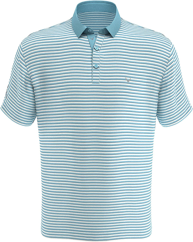 Callaway Virginia Beach Mall Men's Refined 3-Color Yarn-Dyed Sleeve Gol Short Stripe Product
