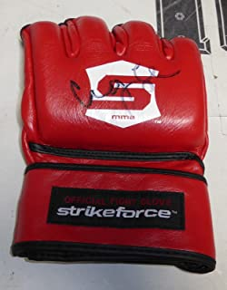 Cung Le Signed Official StrikeForce MMA Glove COA UFC 148 Autograph K-1 - PSA/DNA Certified - Autographed UFC Gloves