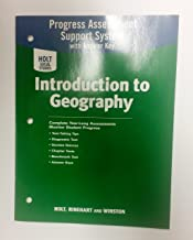 Holt Social Studies Progress Assessment Support System with Answer Key, World Geography
